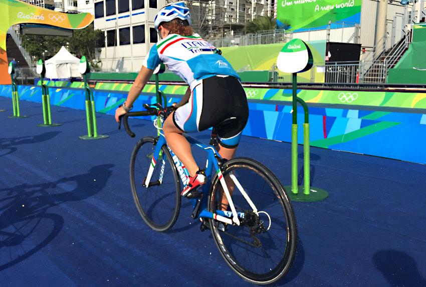 Annamaria Mazzetti alle Olimpiadi di Rio 2016